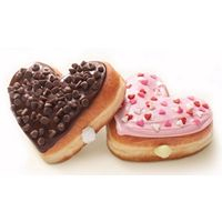A Sweetheart Deal at Dunkin' Donuts: Heart-Shaped Donuts Return