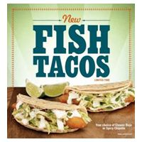 Fish Tacos – Back by Popular Demand at El Pollo Loco!