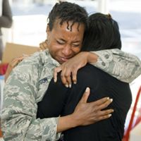 KFC Gives Military Family a Surprise Reunion, College Funds for Twin Daughters