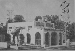 1st Taco Bell, 1962, on Firestone Avenue in Downey, CA.