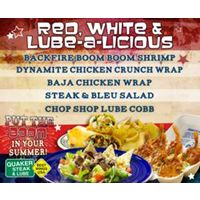 Quaker Steak & Lube Puts the Boom in Your Summer With Red, White & Lube-A-Licious Limited Time Offer