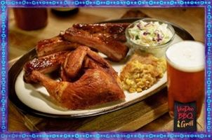Baton Rouge food review site raves about VooDoo BBQ's atmosphere, barbecue