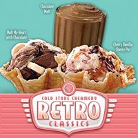 Cold Stone Creamery Goes Back in Time with Retro Ice Cream Promotion