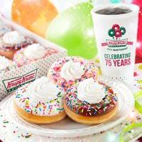 Birthday Deals and Doughnuts at Krispy Kreme