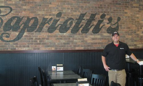 "Capriotti's ""Franchisee of the Year"" was awarded to Katie and James Gimbel of Davenport, Iowa"