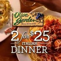 Olive Garden's New 2 For $25 Italian Dinner Offers More Than 1,000 Different Meal Options