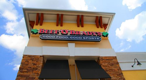 Beef 'O' Brady's Targets Arlington, Virginia for New Restaurant