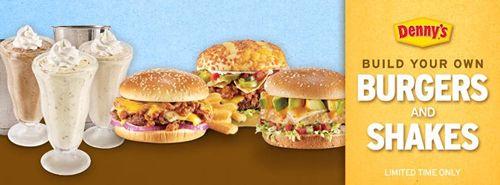 'Build Your Own' Diner Favorites At Denny's