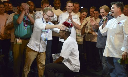 Chef Gregory Gourdet Crowned King of American Seafood at Annual Cook-Off in New Orleans