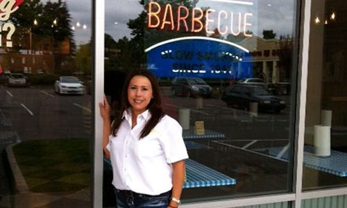 Dickey's Barbecue Pit franchise owner Gina Young.