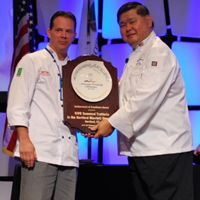 Hartford Chef Accepts Culinary Achievement of Excellence Award on Behalf of VIVO Trattoria