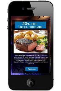 Maxx Menu Smart Phone App for Restaurants