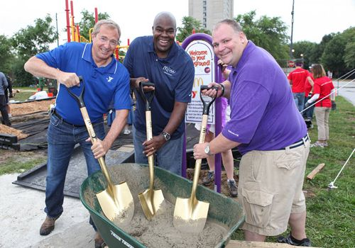 McDonald's CEO Don Thompson Announces KaBOOM! Playgrounds Partnership