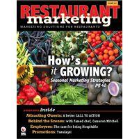 Restaurant Marketing Magazine Summer Issue Sizzles