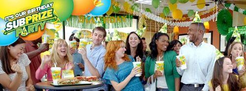 SUBWAY Restaurants Celebrates Birthday with September Full of SUBprizes