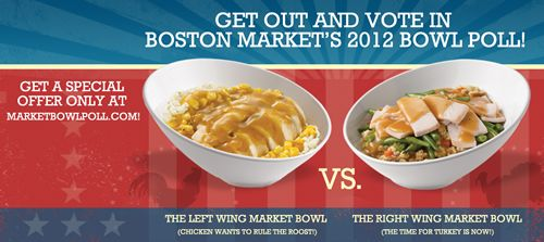 Boston Market Encourages America to Get Out and Vote