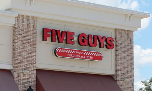 Five Guys Burgers and Fries Ranked America's Favorite Burger Chain