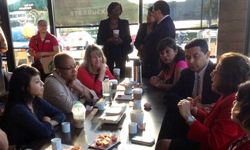 Starbucks Announces Third Community Store in Houston on Anniversary of Store Partnership Model