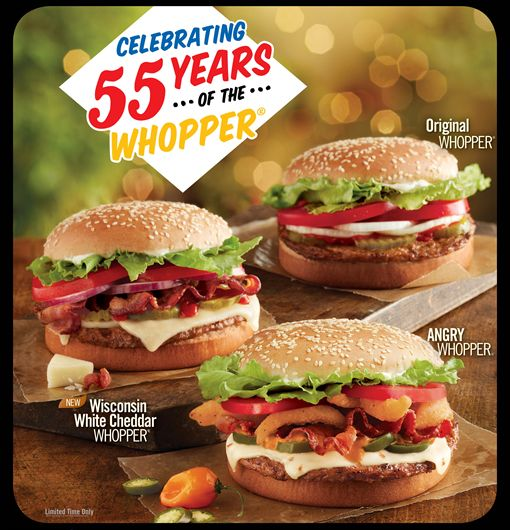 Burger King Celebrates 55th Anniversary of the Original Whopper