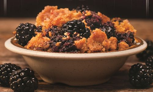 Cowboy Chicken Wood Fire Rotisserie Debuts Southern Blackberry Cobbler