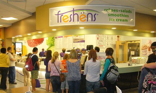 Freshëns New Salads and Menu Options Offer College Students Healthy and Smart Dining Choices