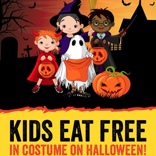 Grab Your Goblins For Dickey's - Kids Eat Free Barbecue on Halloween
