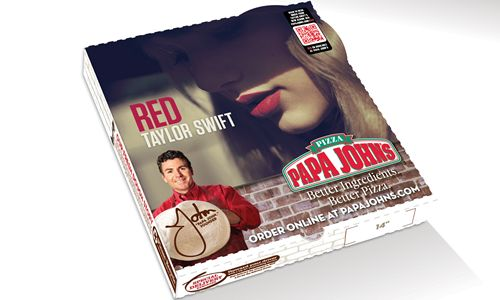 Papa John's Teams with Taylor Swift on Highly Anticipated Red Release