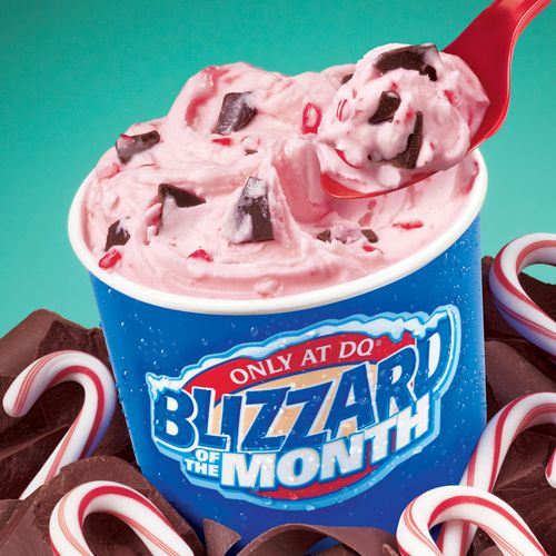 Dairy Queen Throws Blizzard Treat Names Into the Mix for Weather Blizzards This Winter