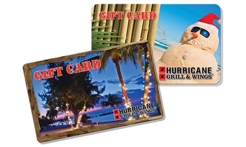 """""""Give A Gift, Get A Gift"""" This Holiday Season At Hurricane Grill & Wings"""