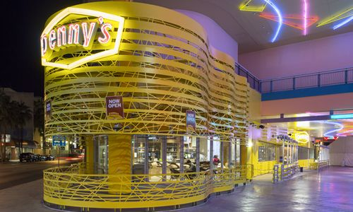 Inside Denny's Las Vegas Flagship Restaurant