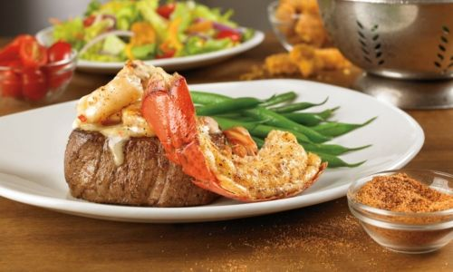 Outback Steakhouse Takes The Holidays 'Over The Top' With New Topped Steaks