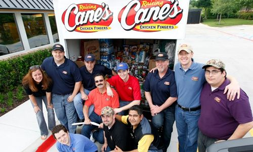 Raising Cane's Named to DFW's Top 100 Places to Work for 4th Consecutive Year
