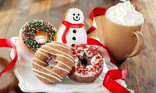 Sip and Savor the Holidays at Krispy Kreme