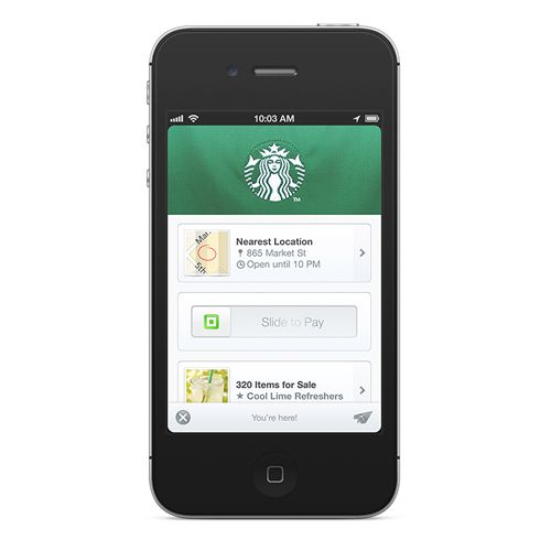 Starbucks Offers Square Wallet Beginning Today