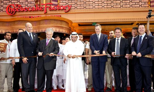 The Cheesecake Factory Opens in Kuwait