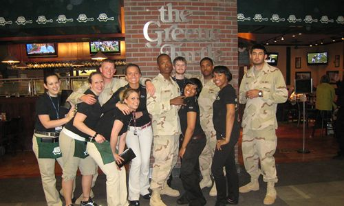 The Greene Turtle Thanks Members Of The Military With Free Veteran's Day Meals