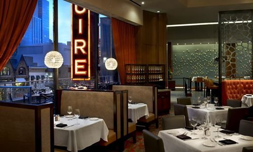 Del frisco 39 s opens one of the largest steakhouses in for Del frisco s chicago