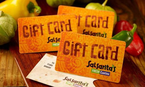 Gear Up for the Holidays with Salsarita's Gift Cards