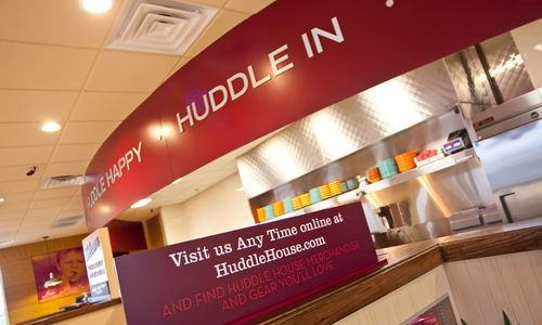 Huddle House Continues Brand Advancement with New Restaurant Prototype, Menu Innovation and Aggressive Expansion