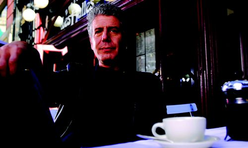 Author and TV Host Anthony Bourdain Takes Center Stage at NRA Show 2013