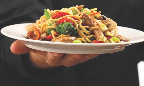 Buffets Toss Asian Flair into the Mix by Adding Mongolian Stir Fry to the Menu