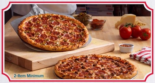 Domino's Pizza Rings in 2013, Offers Domino's Dollars to Online Customers