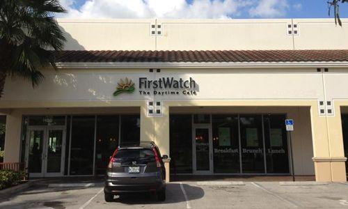 First Watch Restaurant Debuts in Wellington, FL