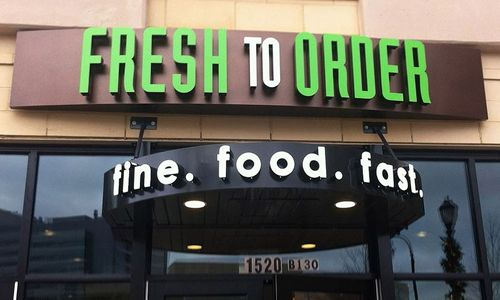 Fresh to Order Opens New Restaurant Prototype at Emory Point in Atlanta