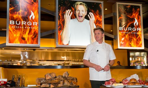 Gordon Ramsay Brings British Invasion to the Las Vegas Strip