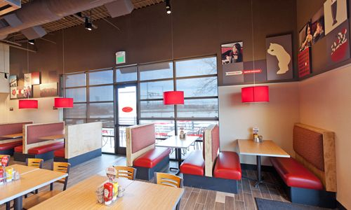 Smashburger Introduces New Restaurant Design Restaurant