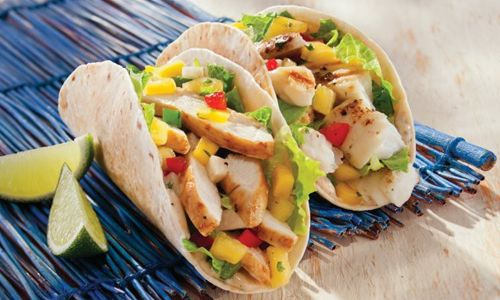 Tacos Gone Tropical: New Fish & Chicken Tacos Debut at Tropical Smoothie Cafe