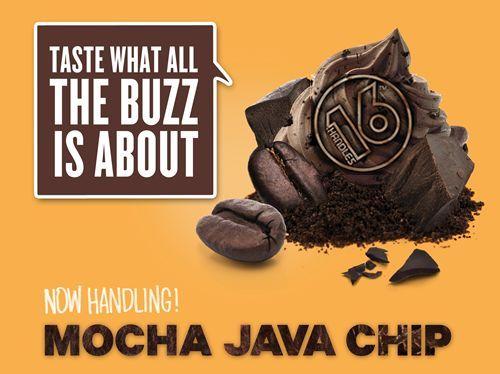 16 Handles Frozen Yogurt Releases Proprietary New Flavor - Mocha Java Chip