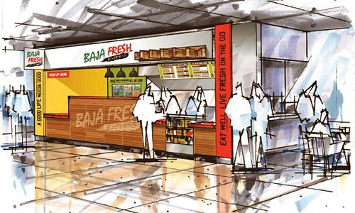 Baja Fresh Opens New Prototype Baja Fresh Express at CSU Fullerton