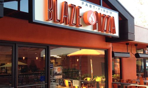 Blaze Fast-Fire'd Pizza Signs Lease at Rolling Hills Plaza in Torrance, CA